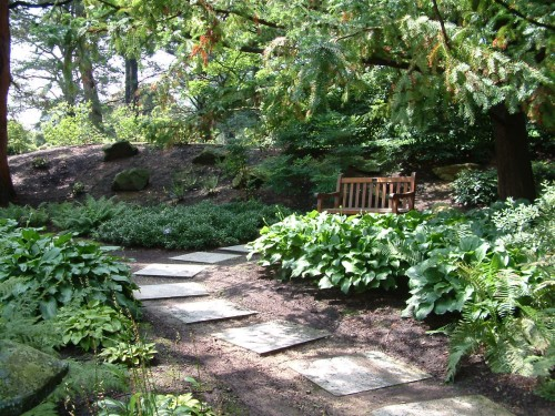 garden design with simple ideas for brightening your shade garden with flower garden images from petersonlawn - Shade Garden Design Ideas
